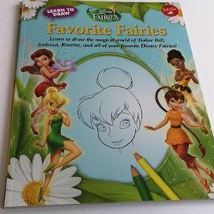Disney Favourite Fairies - Learn to Draw